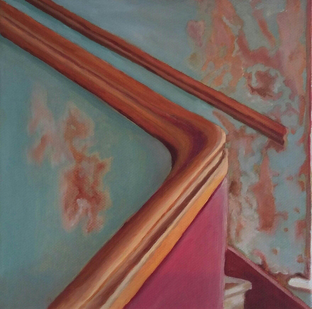 The Old Back stairwell